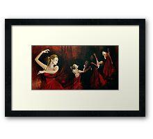 The Last Dance... Framed Print