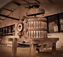 Old Butter Churn by pennyswork