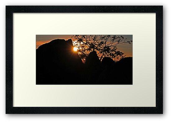 Wiradjuri Sunset by bazcelt