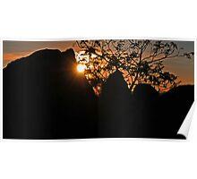Wiradjuri Sunset Poster