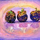 Mangosteens (nom nom nom) by silvadove
