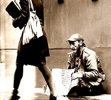 The Beggar by veronique