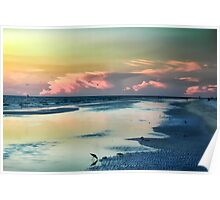 Indian Shores Sunset Poster