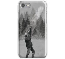 Shooting in Winter iPhone Case/Skin