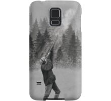 Shooting in Winter Samsung Galaxy Case/Skin