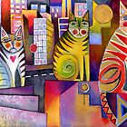 City Cats 2 by Karin Zeller