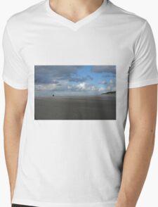 Empty Beach Mens V-Neck T-Shirt