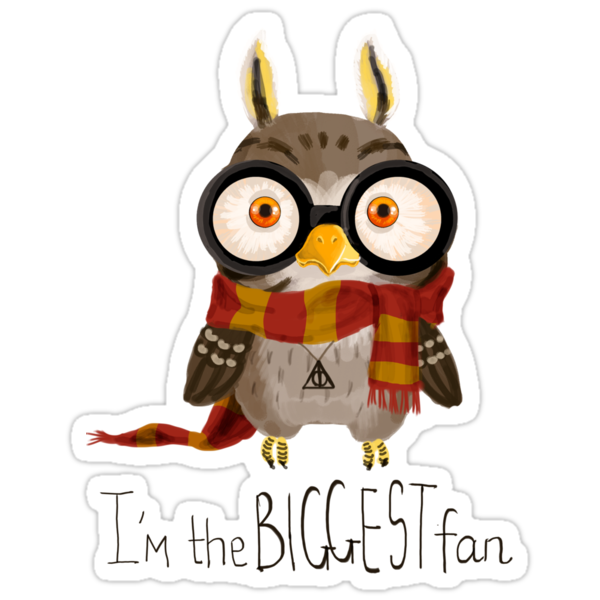 Small owlet - Biggest HP fan by Redilion