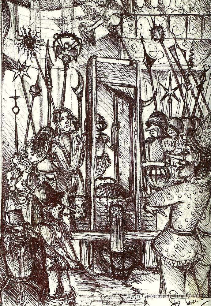 Gulliotine Day ( Off With Their Heads! ) by John Dicandia ( JinnDoW )