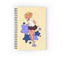 Blue Stars Spiral Notebook