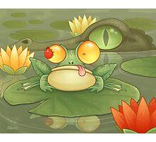 Swamp Snack Photographic Print