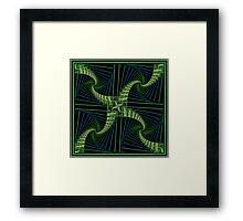 Splits Bow Framed Print
