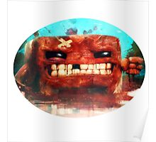 Angry Super Meat Boy Poster