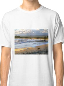 Beach Fun At Dusk On Isabela In The Galapagos Classic T-Shirt