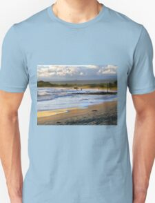 Beach Fun At Dusk On Isabela In The Galapagos T-Shirt