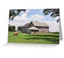 Farm - Deer Creek Township Greeting Card