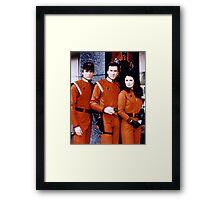 V the Visitors 1983 Headquarter Framed Print