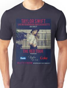 taylor swift - gillette stadium Unisex T-Shirt