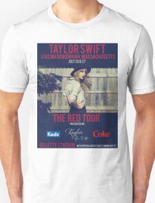 taylor swift - gillette stadium Unisex T-Shirt