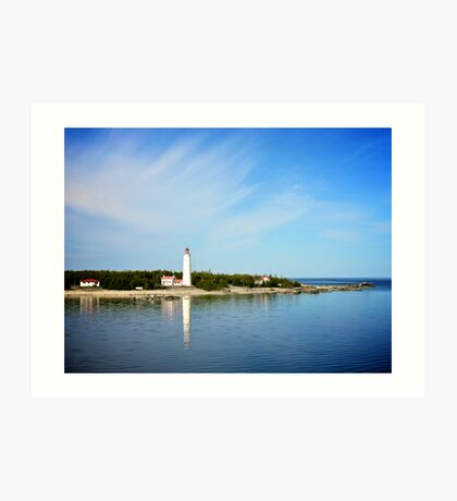 lake huron V Art Print