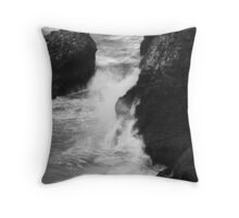 Scylla and Charybdis Throw Pillow