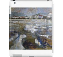 Staithes From The Harbour iPad Case/Skin