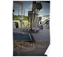 Setup at wedding Poster