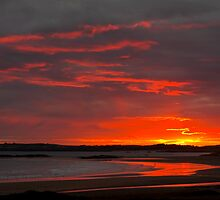 Sunset over Rhosneigr by Shaun Whiteman