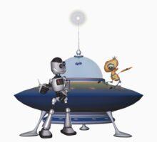 My Best Friend .. a robots tale One Piece - Long Sleeve