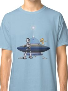 My Best Friend .. a robots tale Classic T-Shirt