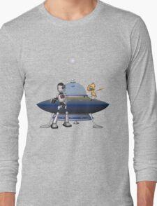 My Best Friend .. a robots tale Long Sleeve T-Shirt