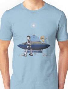 My Best Friend .. a robots tale Unisex T-Shirt