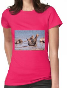 Grey Seal Womens Fitted T-Shirt