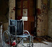 Fire Exit ~ West Park Asylum by Josephine Pugh