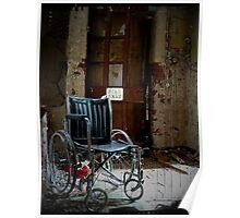 Fire Exit ~ West Park Asylum Poster