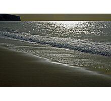 Morning Light on Sandown Beach Photographic Print