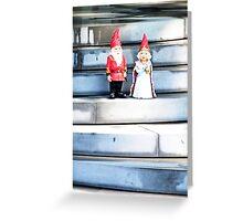 Royal Gnomes Greeting Card