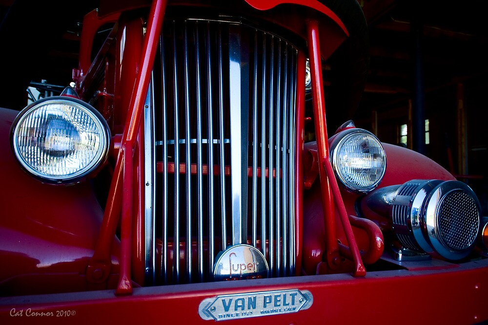 Fire Engine Red by Cat Connor
