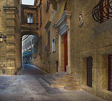 Grand Master De Redin Gate Mdina Malta by Edwin  Catania