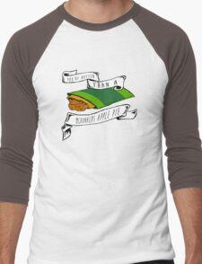You're Hotter Than A McDonald's Apple Pie Men's Baseball ¾ T-Shirt