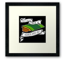 You're Hotter Than A McDonald's Apple Pie Framed Print