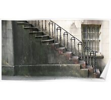 Historic Staircase Poster