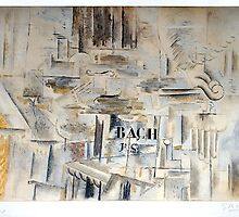 Hommage à J. S. Bach, 1956 by Georges Braque by masterworks