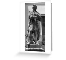 Michelangelo-Master Artist Greeting Card