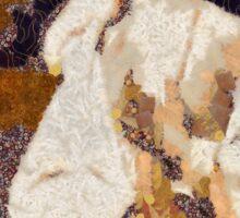 In the style of Klimt by Mary Bassett Sticker