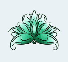 Turquoise lotus by ASCasanova