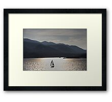 Sunset on the Dalmatian Coast Framed Print