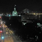 Savannah Historic District at Night by Christopher Clark