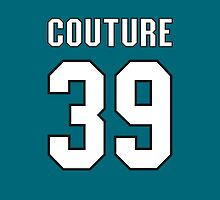 San Jose Sharks Logan Couture Jersey Back Phone Case by Russ Jericho