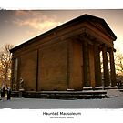 Haunted Mausoleum. Fantasy Art Photoprint by Christian Bodden